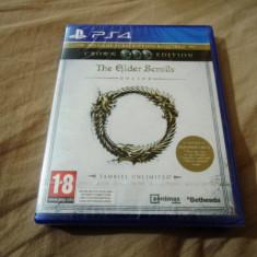 The Elder Scrolls Online, PS4, original si sigilat, alte sute de jocuri! - Jocuri PS4, Role playing, 18+, Single player