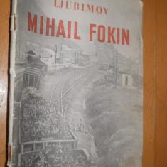 MIHAIL FOKIN - LJUBIMOV - 1950 - CARTE IN LIMBA MAGHIARA - Carte in maghiara