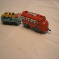 Chuggington - Wilson cu vagon cu sunete si lumini - Trenulet Learning Curve