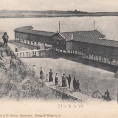 CONSTANTA, BAILE DE LA VIE, CLASICA - Carte Postala Dobrogea pana la 1904, Circulata, Printata