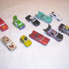 Disney Pixar Cars - Hasbro - 10 figurine masinute de metal - lot 5 - Masinuta