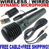 MICROFON WIRELESS  SEMIPROFESIONAL + CONECTOR LAPTOP/PC