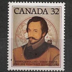 Canada.1983 400 ani Newfoundland MC.533 - Timbre straine, Nestampilat