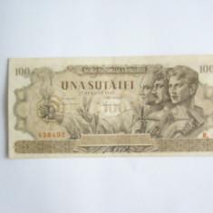 BBR1 - 100 LEI - EMISA LA 27 AUGUST 1947