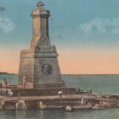 CONSTANTA FARU, CIRCULATA 1928 - Carte Postala Dobrogea dupa 1918, Printata