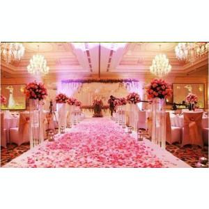 Petale trandafiri artificiale, Alb, 500buc