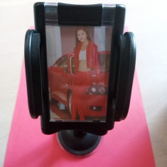 Suport universal pt. PDA, GPS, telefon - suport de fixare cu ventuza - Suport auto, Universala