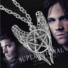 Pandantiv | Colier | Lantisor - FILM SUPERNATURAL - Pentagrama Winchester Amulet - Lantisor fashion