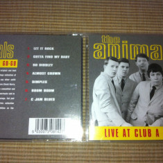 Animals live at club a go go cd disc muzica rock blues beat anii 60 made in uk
