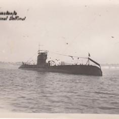 CONSTANTA, SUBMARINUL DELFINUL - Carte Postala Dobrogea 1904-1918, Necirculata, Printata