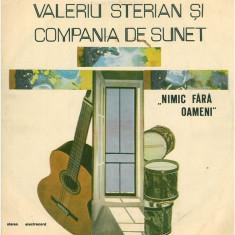 Valeriu Sterian – Nimic fara oameni (LP - Romania - VG) - Muzica Rock electrecord, VINIL