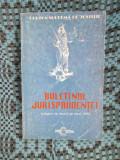 CURTEA SUPREMA DE JUSTITIE - BULETINUL JURISPRUDENTEI. CULEGERE DE DECIZII 1994