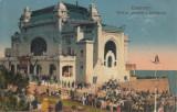CONSTANTA, VEDEREA GENERALA A CAZINOULUI , CIRCULATA 1923, Printata