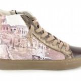 Sneakers Y Not? - Inalte - Model Roma - marimea 37 - noi, in cutie, Maro