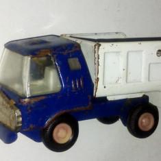 Masinuta tabla veche - fabricata in Japonia anii '80 - masina gunoi - Colectii