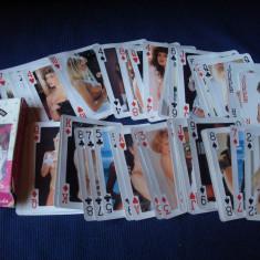 Carti de joc sexy, dame de colectie/vintage