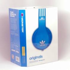 CASTI MONSTER ADIDAS. Claritate excelenta. Fir Detasabil. BEATS. Model NOU Monster Beats by Dr. Dre, Casti On Ear, Cu fir, Mufa 3, 5mm