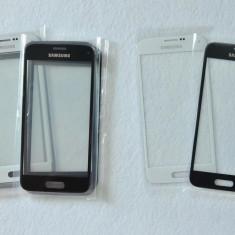 Sticla Ecran Geam Samsung S4 mini ALB, sau Negru + ADEZIV GRATIS - Geam carcasa