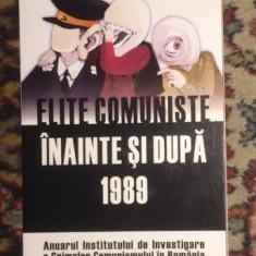 Elite comuniste inainte si dupa 1989 vol. II, 2007 - Istorie