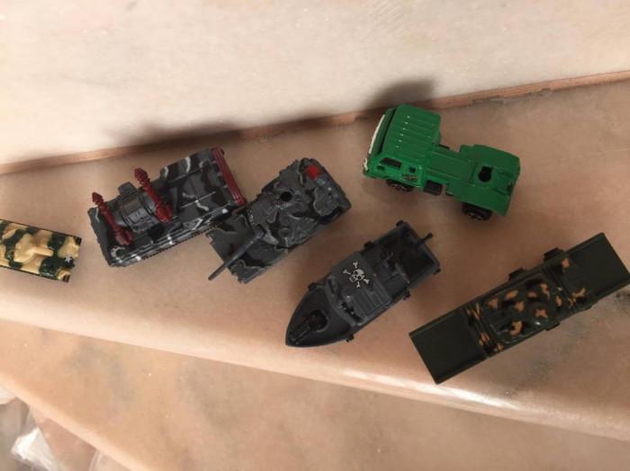 Lot Machete Militaria - Tancuri + altele