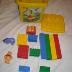 Lego Duplo - Galeata 1238 cu 53 de piese - Winnie de Pooh