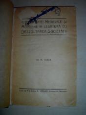 ISTORIA ARTEI MEDIEVALE -N. IORGA , EDITIE PRINCEPS, 1923 foto