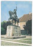 7324 - Romania (361) - ALBA-IULIA Mihai Viteazul statue - postcard - unused 1998, Necirculata, Printata