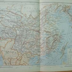 China teritoriul neutru Pien - Ouai intre Manciuria si Coreea Sud 1890 Rara!