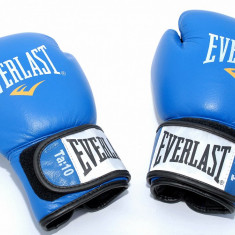 Manusi de box 10 oz - Everlast Fighter - din piele - Noi - Originale - Manusi box