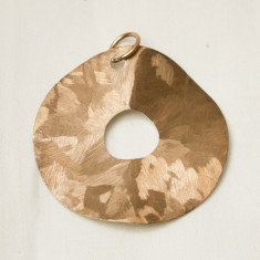 Pandantiv argint si cupru