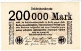 Germania 200000 MARK marci 1923 a.UNC/UNC