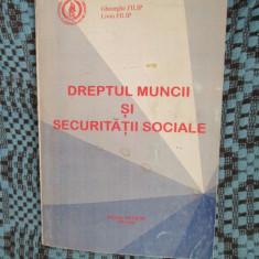Gheorghe FILIP / Liviu FILIP - DREPTUL MUNCII SI SECURITATII SOCIALE (1994) - Carte Legislatie