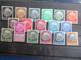 TIMBRE GERMANIA REICH 512-528  1933-1936   SERIE PAUL-HINDENDBURG
