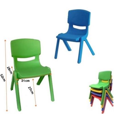 Scaune Din Plastic Pentru Copii.Scaun Rezistent Pentru Copii Diverse Culori