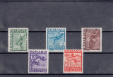 ROMANIA 1937, LP 121, JOCURILE BALCANICE,MNH,LOT 1 RO, Nestampilat