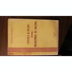 PVM - Cintece / Cantece si Jocuri pentru Orchestrele de Amatori Bucuresti 1963