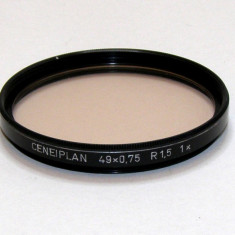 Filtru skylight Ceneiplan 49mm x0.75 R1.5 1X(129) - Filtru foto