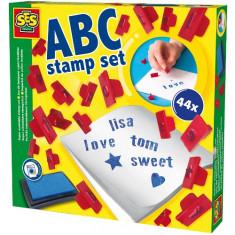Set Stampile Lavabile - Alfabet - Jocuri arta si creatie SeS