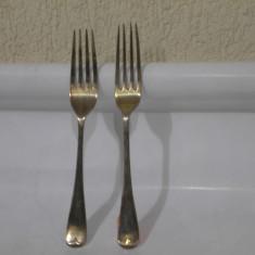 Doua furculite vechi argintate !
