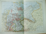 Germania 1886  harta color