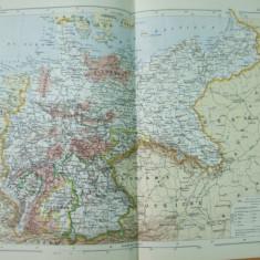 Germania 1886  harta color