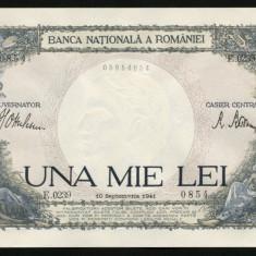 ROMANIA 1000 LEI 10 SEPTEMBRIE 1941 UNC NECIRCULATA