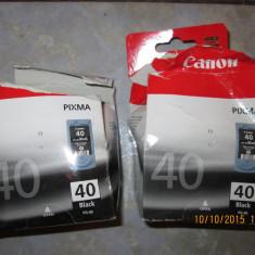 Cartuş gol, original, virgin, CANON PG-40 Negru (capacitate mare, 22 ml) - Cartus imprimanta