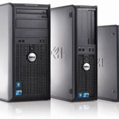 Calculator Dell Intel Dual Core 3GHz, 4GB DDR2, 80GB HD, DVD Garantie 1 an - Sisteme desktop fara monitor Dell, Intel Pentium Dual Core, 2501-3000Mhz, 40-99 GB, LGA775