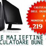 """Calculator Dell Intel Dual Core + Monitor LCD 15""""la OFERTA! - Sisteme desktop cu monitor Dell, Intel Pentium Dual Core, Peste 3000 Mhz, Sub 1 GB, 40-99 GB, LGA775"""