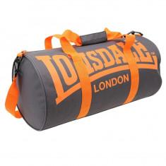Geanta Lonsdale Barrel Bag - Originala - Anglia - Dimensiuni W52 x H26 x D26cm - Geanta sala