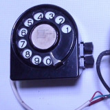 Disc bachelita telefon militar vechi colectie armata statie radio Campanie TC72