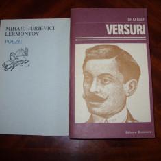 DOUA CARTI DE POEZIE ( stare foarte buna, pretul este pentru ambele ) * - Carte poezie