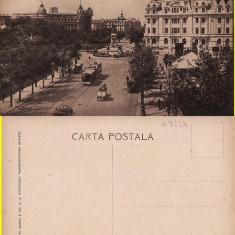 Bucuresti - Bulevardul Bratianu. Tramvai. Animatie