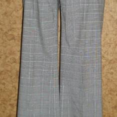 Pantaloni de dama, edc by Esprit, model clasic, stofa subtire, marime 38 - Pantaloni dama Esprit, Lungi, Gri